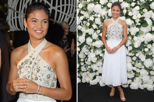 Raducanu beams in elegant outfit at London Fashion Week after US Open victory