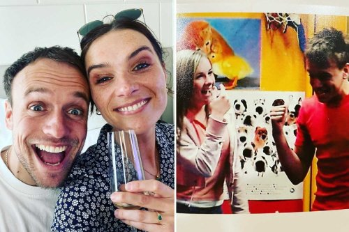 Emmerdale stars Chelsea Halfpenny and James Baxter engaged after three years