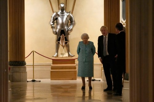 Boris Johnson sends 'best wishes' to Queen after she spends night in hospital