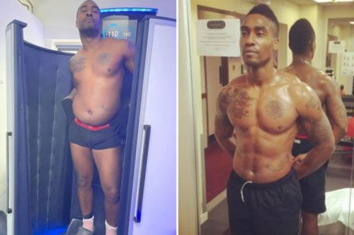 Blue's Simon Webbe praised by fans for showing 'dad bod' after losing six-pack