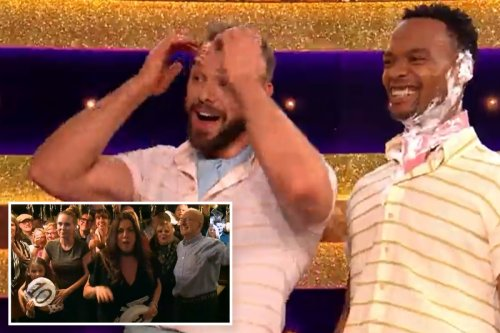 Strictly fans in hysterics at shock 'I'm wet' outburst from John Whaite's friend