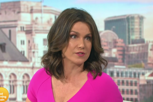 Susanna Reid admits she's gained weight around her tummy after gorging on bags of chocolate in lockdown