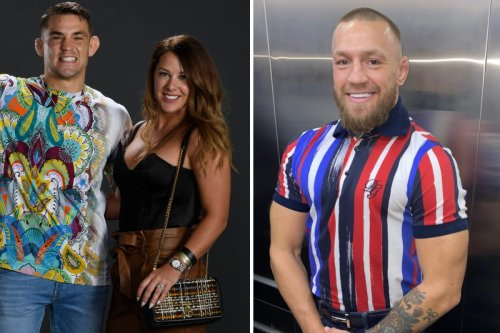 Poirier and wife Jolie 'upset' by Conor McGregor's cheap shot over their charity
