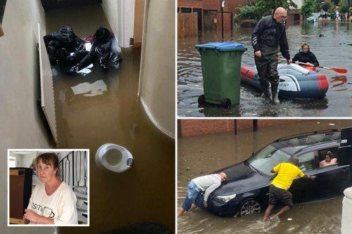 NHS hero breaks down at 'losing her whole life in hours' in London flood