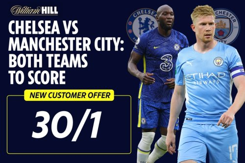 Chelsea vs Man City betting: 30/1 odds special for both teams to score