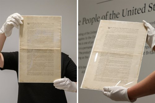 First edition copy of the US Constitution could be yours... for $20MILLION