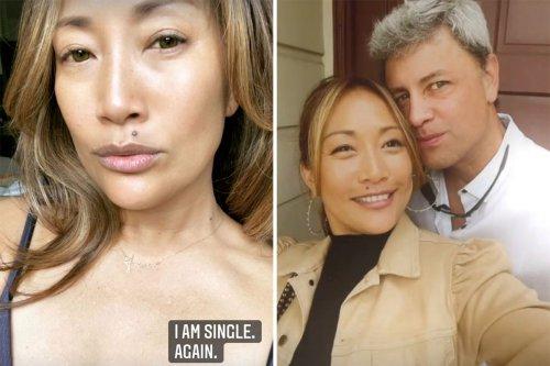 The Talk's Carrie Ann Inaba reveals she split from boyfriend Fabien Viteri