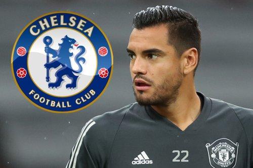 Chelsea line up transfer swoop for ex-Man Utd keeper Sergio Romero