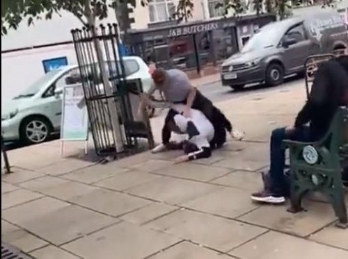 Ear-biting brute suffers instant karma as 16-year-old victim is jiu-jitsu champ