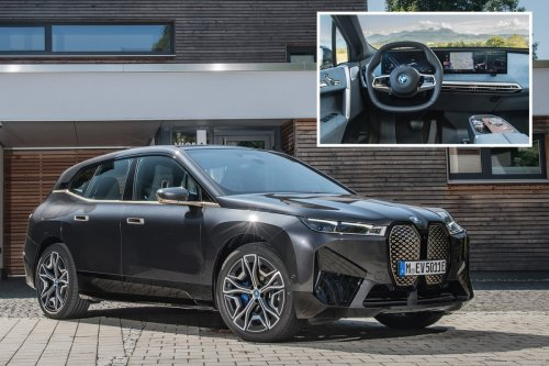 New £70k BMW iX SUV is a green one - if such a thing is possible