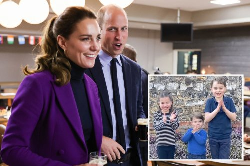 Wills & Kate want Charlotte & Louis 'to have own careers & not be hangers-on'