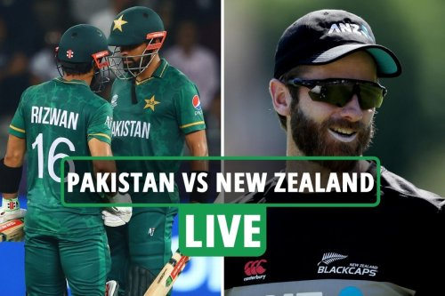Pakistan vs New Zealand LIVE: Follow all the latest from T20 World Cup clash