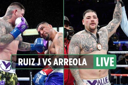 Andy Ruiz Jr vs Chris Arreola: Date, UK start time, live stream, TV channel