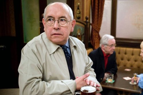 Corrie's Norris sparks clash at his funeral after a secret is revealed