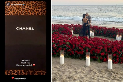 Kourtney gifts friend $7K Chanel purse for birthday after engagement to Travis
