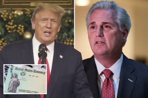 Trump mulls VETOING plan for $600 checks as top Republican says 'bill is tainted'
