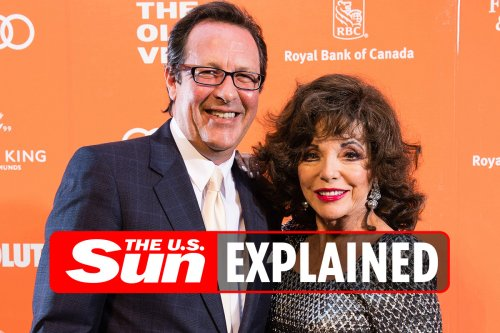Who is Joan Collins' husband Percy Gibson?