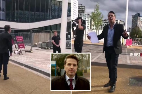 ITV reporter rages 'I'll f***ing bang you' in rant at 'idiot' who got in shot