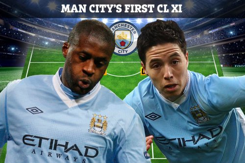 Where are Man City's XI from their 2011 Champions League debut against Napoli?