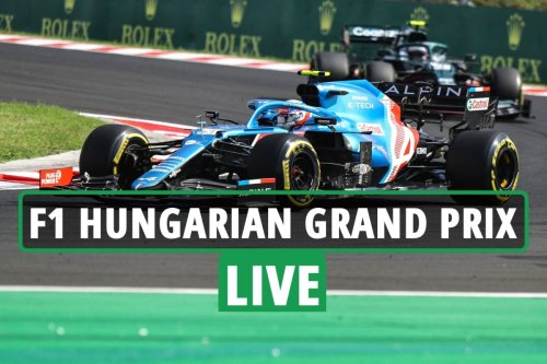 F1 Hungarian Grand Prix LIVE RESULTS: Ocon WINS ahead of Vettel as Hamilton battles to third from last place