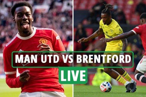 Man Utd vs Brentford LIVE: Follow all the action from pre-season friendly