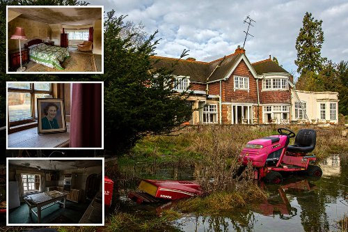 Inside spooky 30-room manor house left to rot after owners died