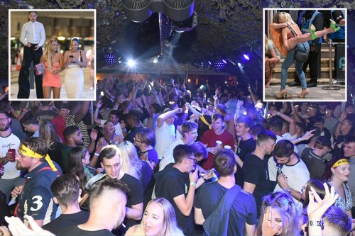 Boozy Brits enjoy first Friday night of freedom as revellers pack out clubs
