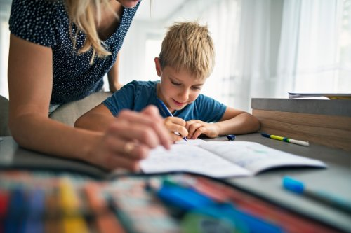 I do my kids' homework for them and have the whole time they've been in school