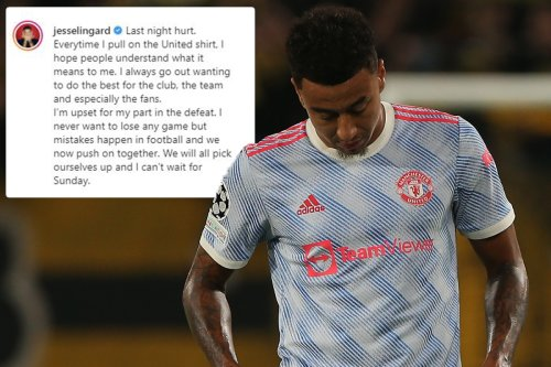 Jesse Lingard issues grovelling apology after costing Man Utd against Young Boys