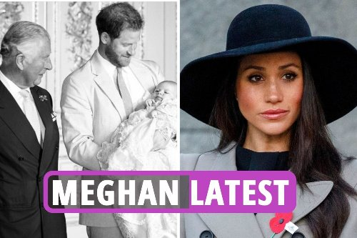 Meghan 'SNUBBED' by Prince Charles who ditched her from Archie birthday message