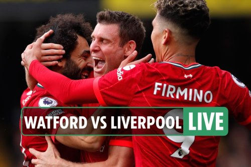 Watford vs Liverpool LIVE: Follow all the latest updates from Prem clash