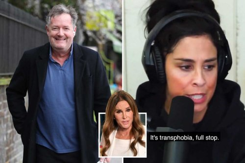 Piers Morgan slams star who accused Caitlyn Jenner of transphobia