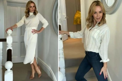 Amanda Holden 'returning to roots' as she teases new TV project in chic outfit