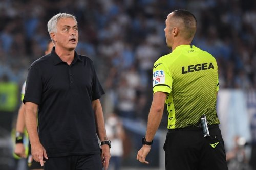 Raging Roma boss Mourinho storms out of press conference after fiery derby