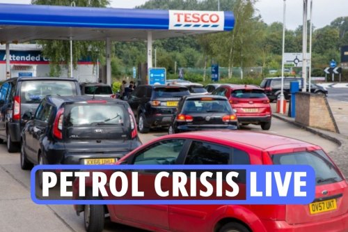 LIVE updates on the UK petrol shortage as retired HGV drivers are urged to help