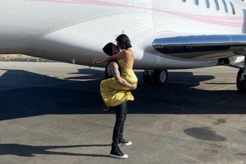 Kourtney Kardashian allegedly acted 'bratty' on flight with Travis Barker