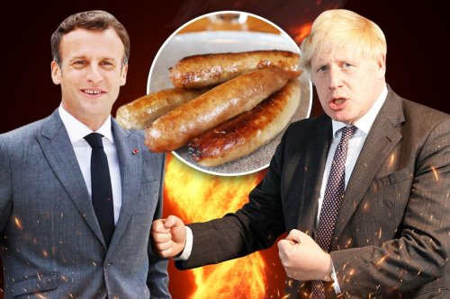 PM ramps up 'sausage wars' after Macron says Northern Ireland not part of UK