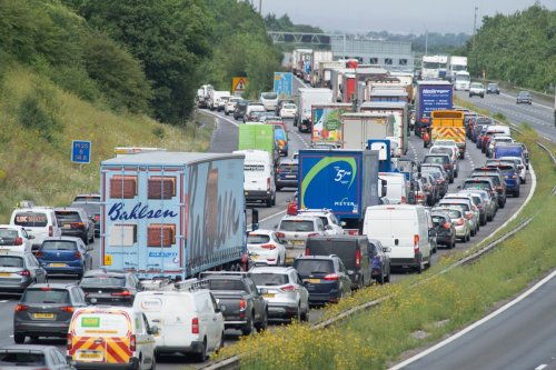 Summer getaway chaos as Storm Evert batters country and huge motorway queues