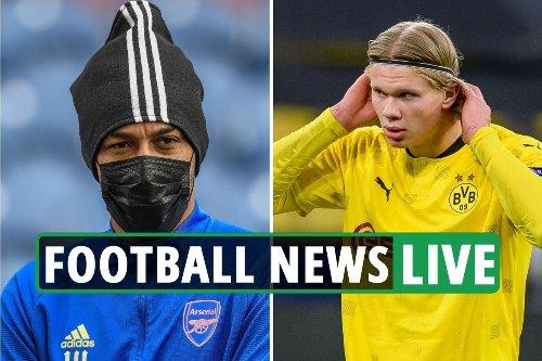 Aubameyang LATEST, Arsenal Odegaard blow, Chelsea target Aguero, Haaland update - Liverpool, Man City transfer news