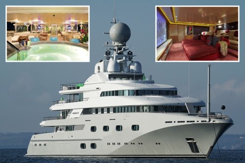 Inside Saudi Crown Prince MBS' £44m superyacht anchored in Cornwall