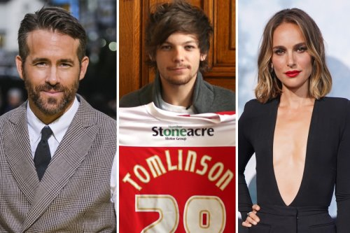A-list celebs who have invested in footy clubs from Ryan Reynolds to 1D's Louis