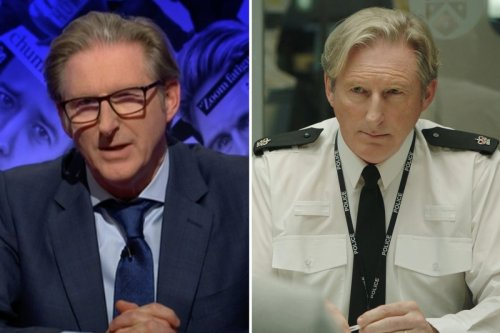 Line of Duty fans thrilled as Adrian Dunbar makes Have I Got News For You debut - with plenty of quips about cop drama