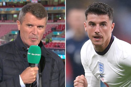 Mount hailed by Keane and Souness as Euro pundits praise 'fab' England star