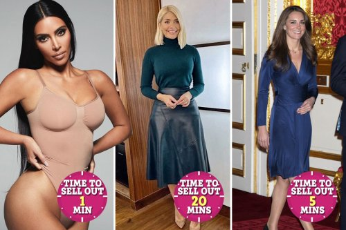 From Kim Kardashian to Holly and Kate – the celebs who just have to wear an outfit once to make it a sell out