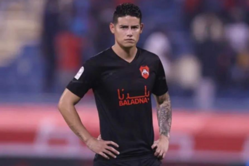 James Rodriguez suffers horror debut in first Qatar match after leaving Everton