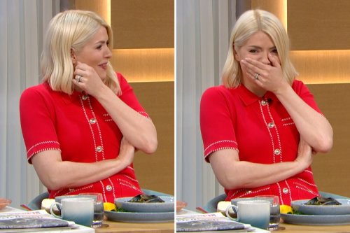 Holly Willoughby furious as she's exposed for plotting to fake tasting mussels
