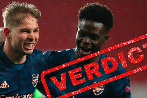 Arsenal verdict: Gunners have two bright diamonds in Saka and Smith Rowe