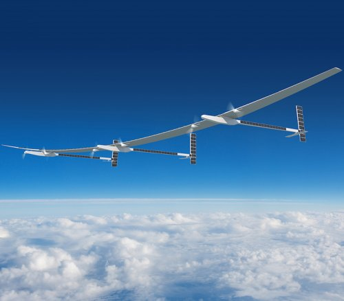 Solar-powered drones flying up to 70,000ft could be used in space wars