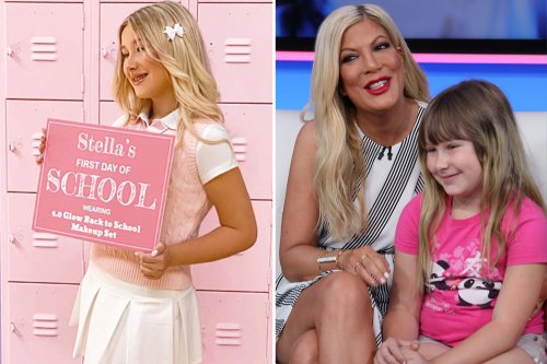 Tori Spelling says daughter Stella, 13, was badly bullied but is now modeling