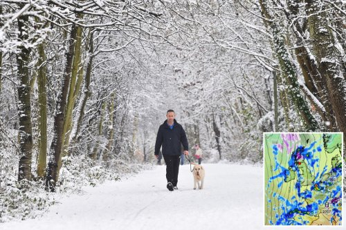 Exact date SNOW to hit as Brits battered by 60mph gusts & floods TOMORROW